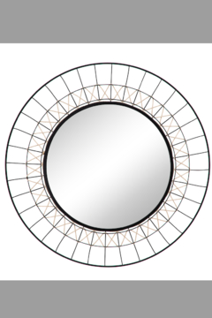 Shoptiques Product: METAL MIRROR