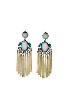Galy's  Metal Tassel Statement-Earrings - Product List Image