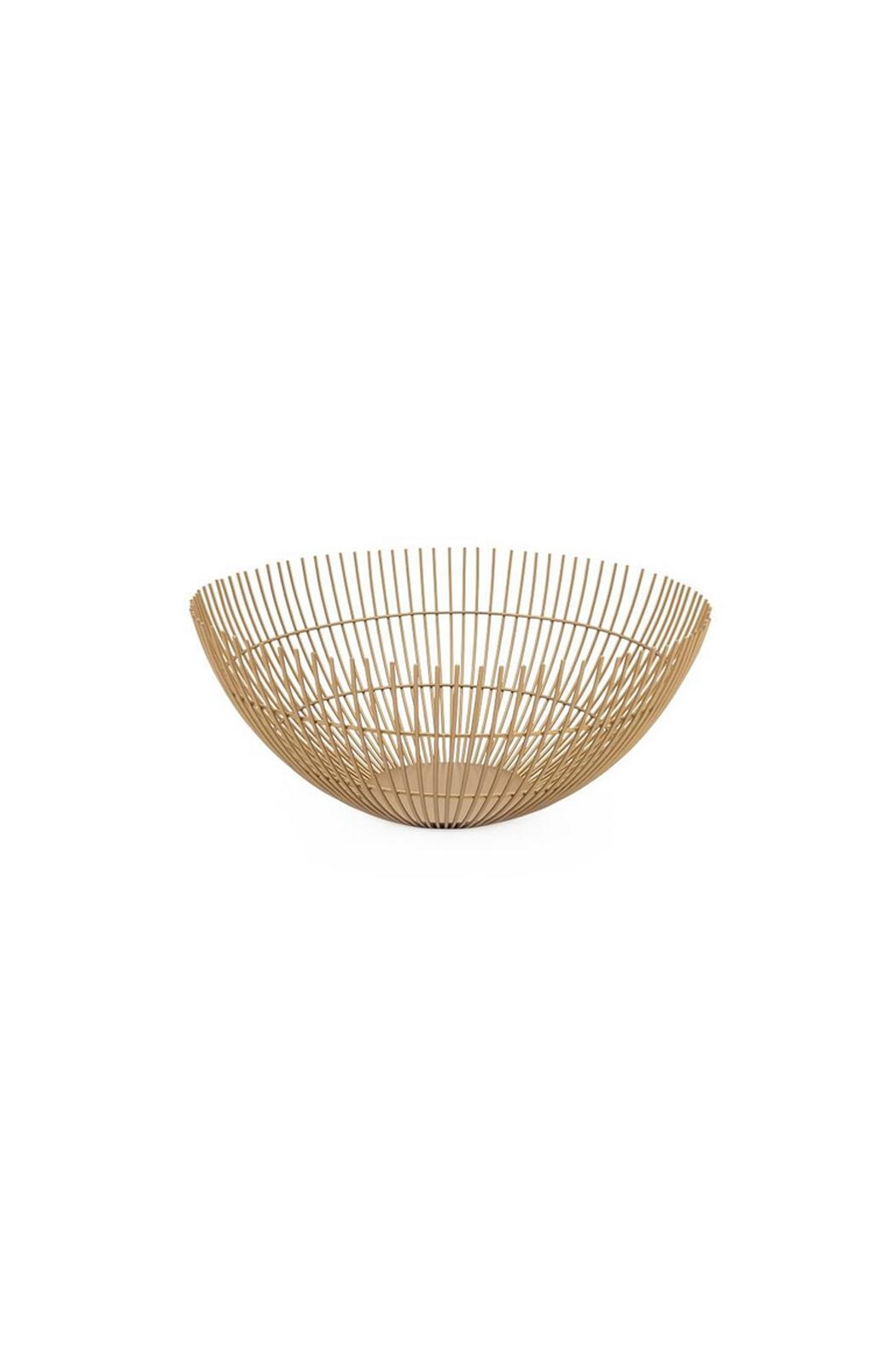 Torre & Tagus Metal Wire Bowl - Main Image