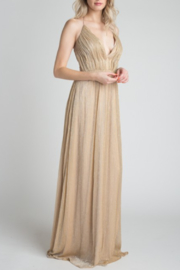 Minuet Metallic Ball Gown - Product Mini Image