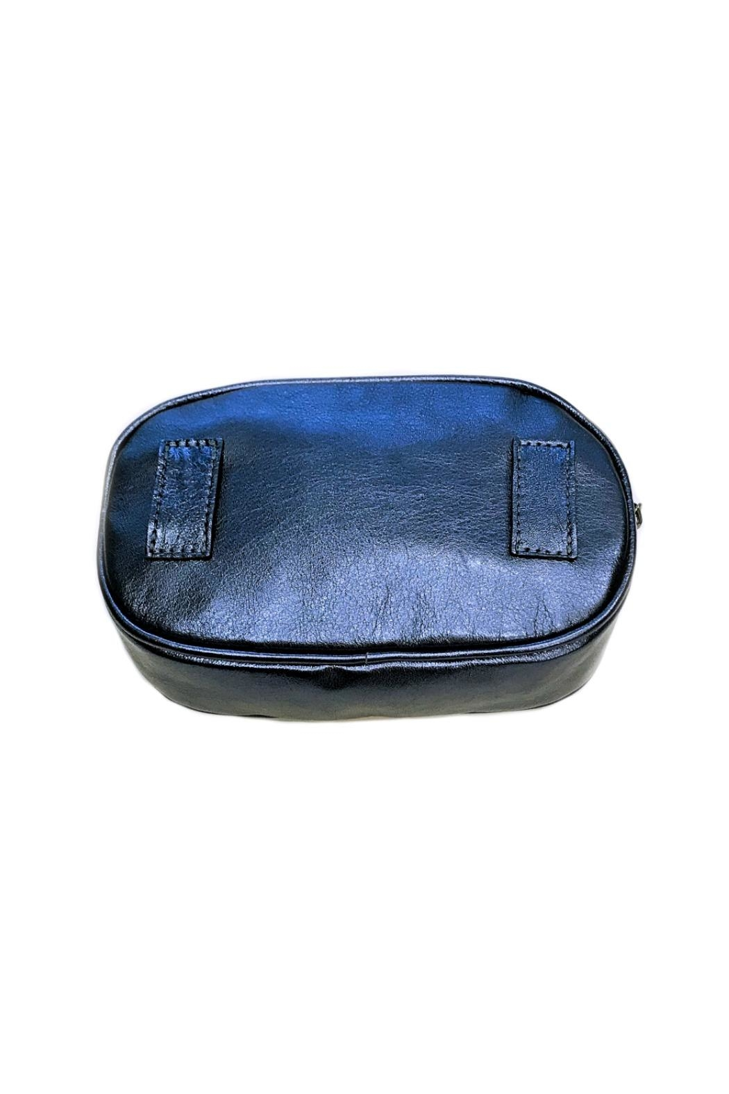 Leather Country Metallic Belt Bag - Side Cropped Image