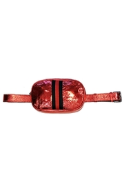Leather Country Metallic Belt Bag - Front cropped
