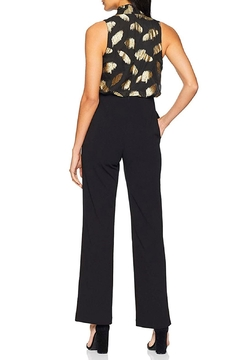 Donna Morgan Metallic Bodice Jumpsuit - Alternate List Image