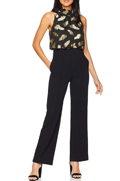 Donna Morgan Metallic Bodice Jumpsuit - Product List Image