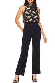 Donna Morgan Metallic Bodice Jumpsuit - Product Mini Image