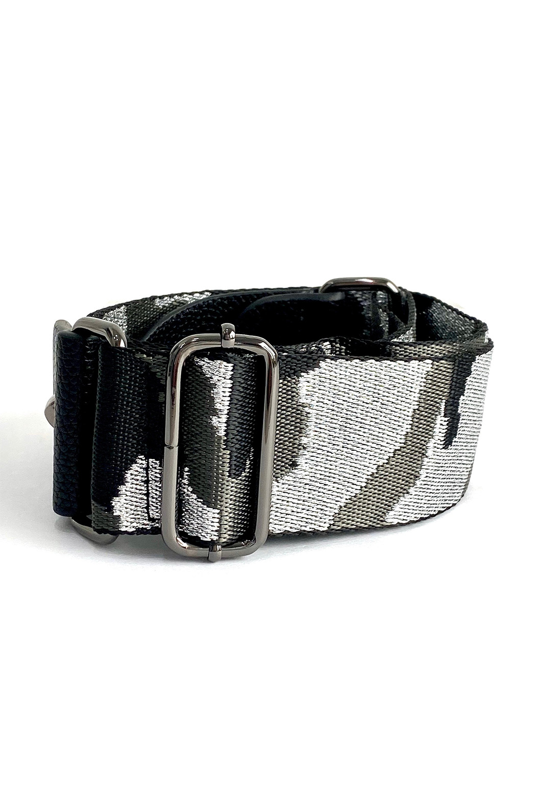 be clear handbags Metallic Camo Strap - Main Image
