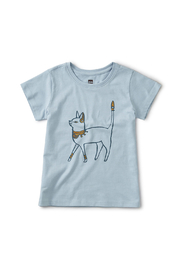 Tea Collection Metallic Cattitude Tee - Product Mini Image