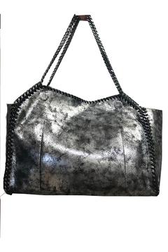 INZI Bags Metallic Chain Tote - Alternate List Image