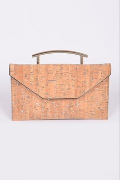 Shoptiques Product: Metallic Cork Clutch