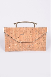 H & D Metallic Cork Clutch - Product Mini Image