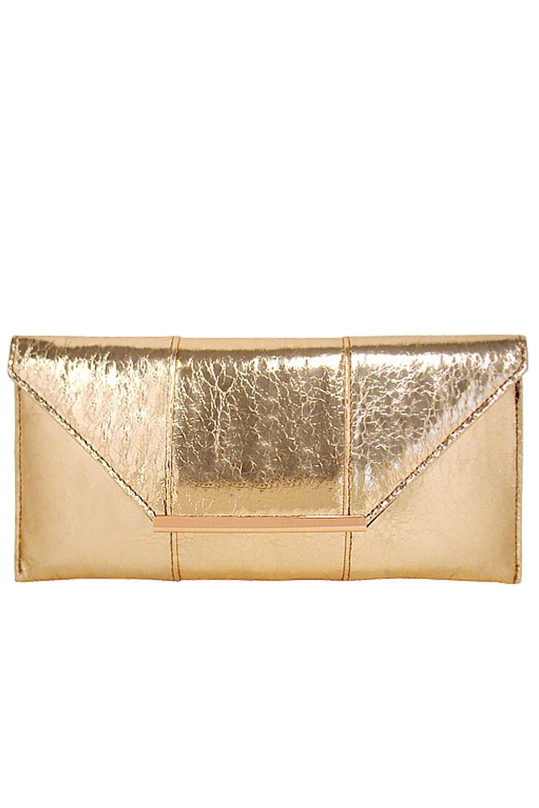 Wild Lilies Jewelry  Metallic Envelope Clutch - Main Image
