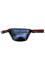 Leather Country Metallic Fanny Bag - Front cropped