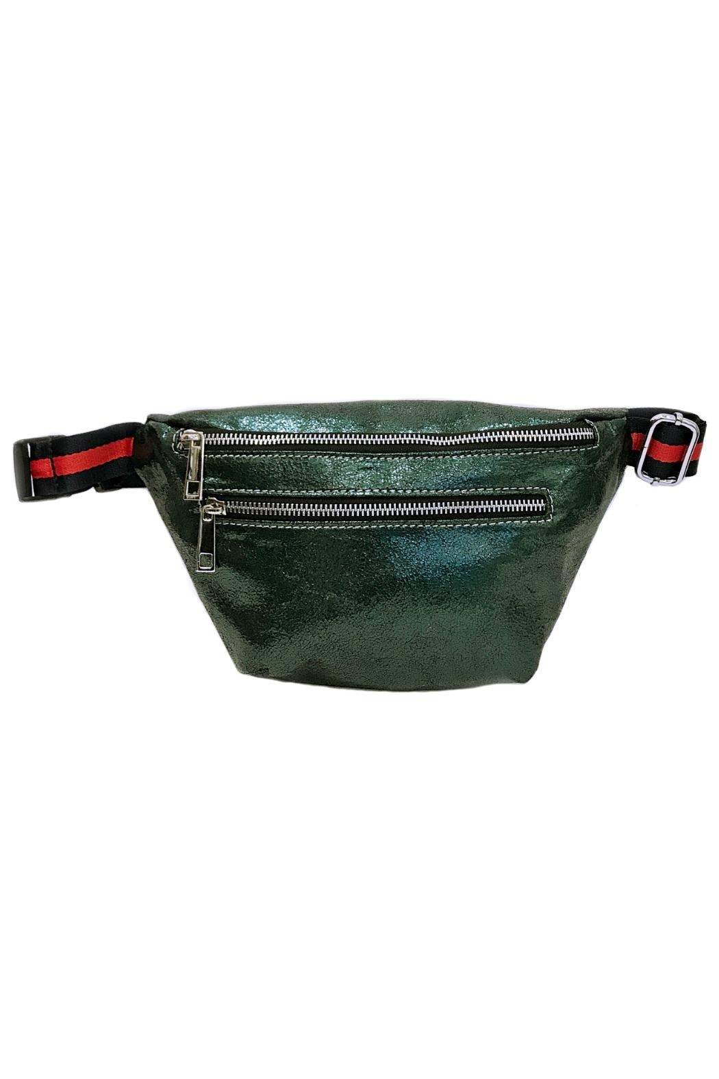 Leather Country Metallic Fanny Bag - Main Image