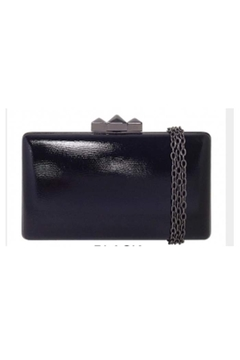 JNB Metallic Faux Leather Box Clutch - Product List Image