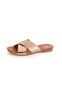 Shoptiques Product: Metallic Flat Sandal
