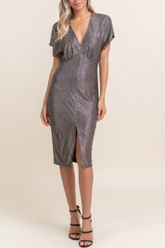 Lush Metallic Fun Dress - Product List Image