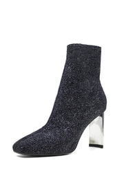 Lola Cruz Metallic Glitter Boot - Front full body