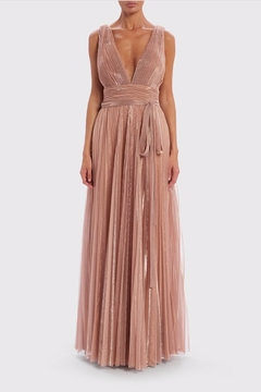 Forever Unique Metallic Gold Maxi - Product List Image