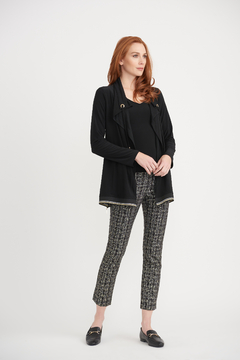 Joseph Ribkoff Metallic Grid Pant - Alternate List Image
