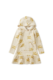 Tea Collection Metallic Hooded Sweat Dress - Product Mini Image