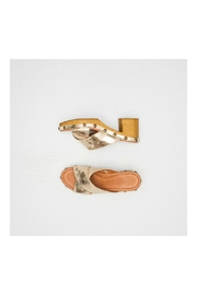 TEN POINTS Metallic Leather Clogs - Product Mini Image