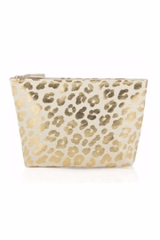 Allie & Chica Metallic Leopard Pouch - Product Mini Image