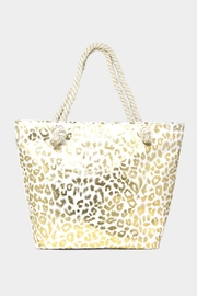 Embellish Metallic Leopard Tote - Product Mini Image
