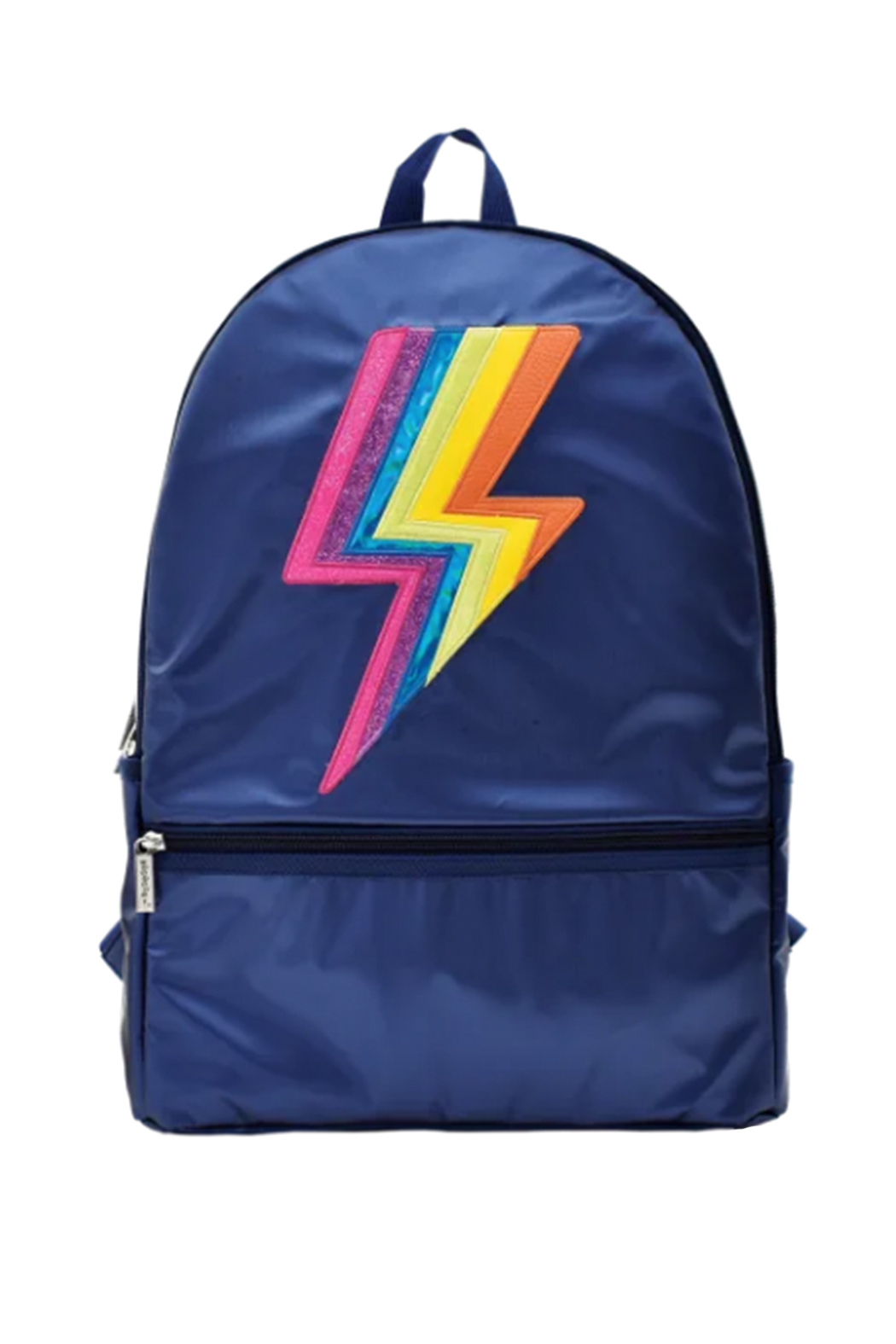 Iscream Metallic Lightning Backpack - Front Cropped Image