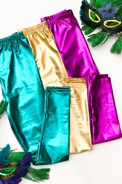 Fornia Metallic Liquid Legging - Alternate List Image