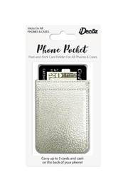iDecoz Metallic Phone Pocket - Product Mini Image