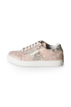 Lady Doc Metallic-Pink Sneakers - Product List Image