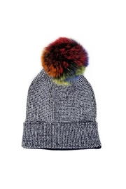 Lets Accessorize Metallic Rainbow Beanie - Product Mini Image