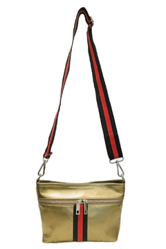 Leather Country Metallic Shoulder Bag - Product List Image