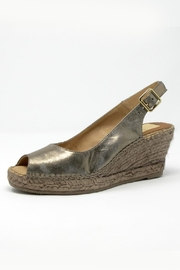 Kanna Metallic Slingback Wedge - Product Mini Image