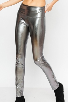 HYFVE Metallic Spandex Leggings - Alternate List Image