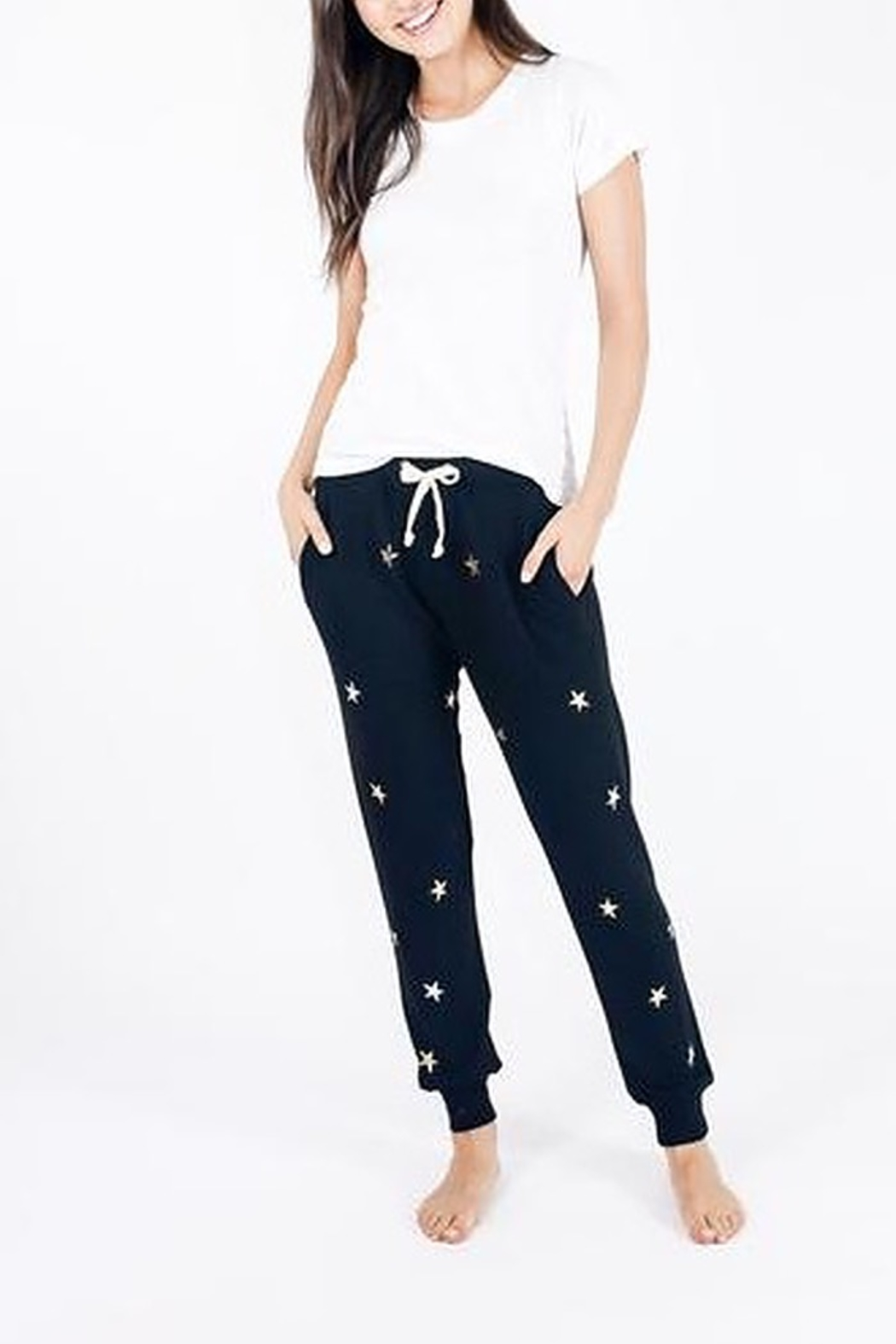 Six Fifty Metallic Star Broadway Jogger - Front Full Image