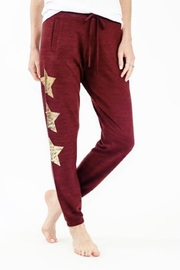 Six Fifty Metallic Star Jogger - Front cropped