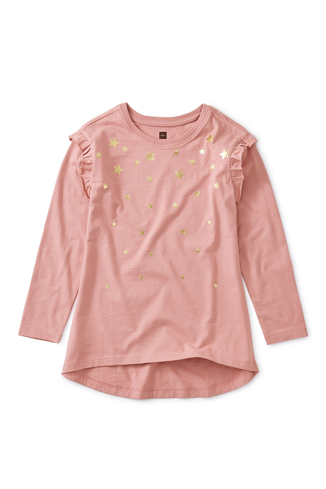 Tea Collection Metallic Star Tunic Top - Front Cropped Image