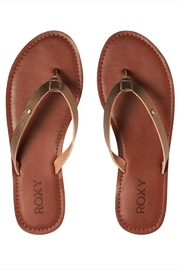Roxy Metallic Strap Flip-Flop - Product Mini Image