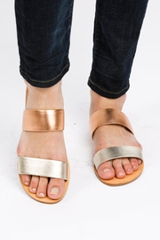 FashionAble Metallic Strap Sandal - Product Mini Image