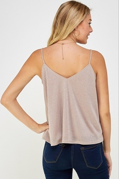Caramela Metallic Tank Top - Alternate List Image