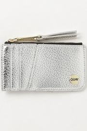 Quay Australia Metallic Top Zip Wallet - Product Mini Image