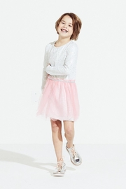 Egg  by Susan Lazar Metallic Tulle Dress - Front cropped