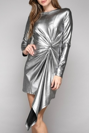 Do & Be Metallic Twist Front Dress - Product Mini Image