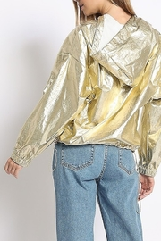 Sans Souci Metallic Wind Breaker - Front full body