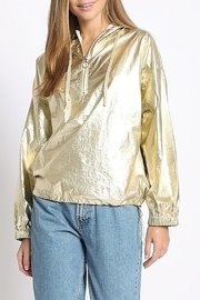 Sans Souci Metallic Wind Breaker - Front cropped