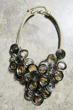 DDFL Import METALLIC WIRE ARTSY NECKLACE - Product List Image