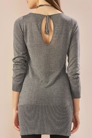 Charlie Paige Metallic Yarn Tunic - Front full body