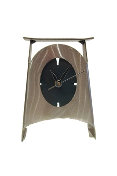 Shoptiques Product: Steel Desk Clock