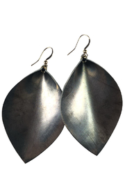 Fabulina Designs Metallica Statement Earrings - Front cropped